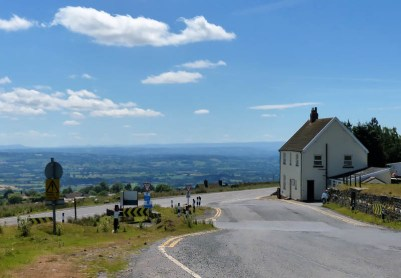 Starting out from Clee Hill village
