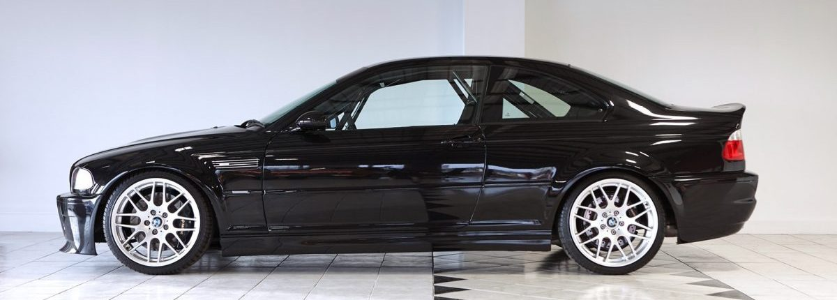 Bmw E46 M3 Csl Black For Sale At Geoff Steel Racing Racing Car