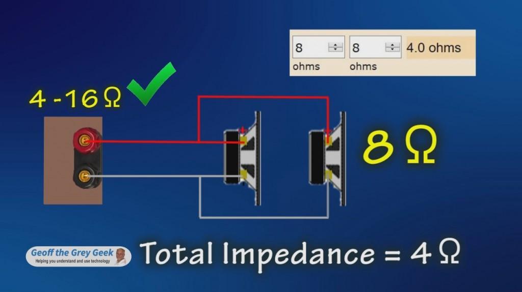 Understanding Speaker Impedance Geoff The Grey Geek