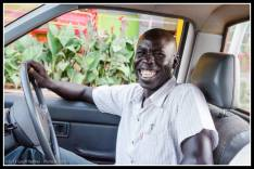 This guy gave me a ride to Lira..... well I paid a bit!!