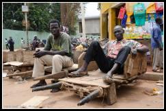 Barrow men in Lira Town