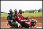 "I'm on a boda heading for Lira when we passed these guys.... ""gidday!!"""