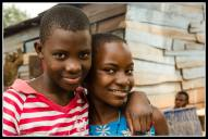 Kids of the neighbour hood in Bukoto, Kampala.