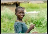 Girl with necklace - Rackoko IDP Camp