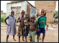 Village Children - Rackoko Trading Centre