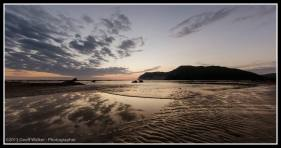 Muriwai Beach and marae
