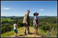 Stew, and the kids took me up to the high points of their block near Tora.