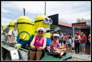 Greytown Xmas Parade - tennis with these guys????