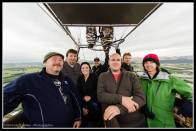 The crew onboard Hamilton