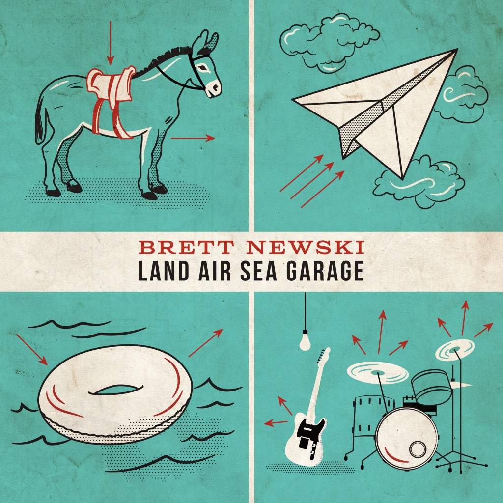 Album Review Brett Newski Land Air Sea Garage