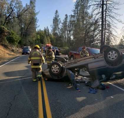 Solo Vehicle Accident on Wentworth Springs Rd.