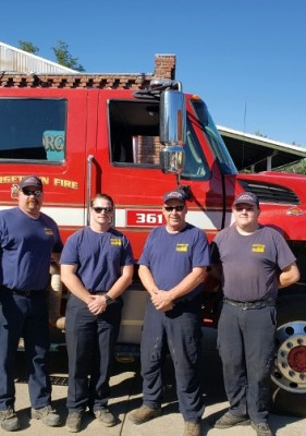 The Georgetown Fire Department crews return safely from 11 days on the fire line