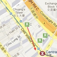 Finding location: Central Station, Exit C of the Hong Kong MTR