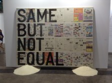 by Rirkrit Tiravanija, displayed at Art Basil, Hong Kong 2013