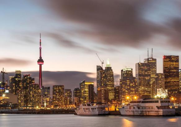 Город Торонто.