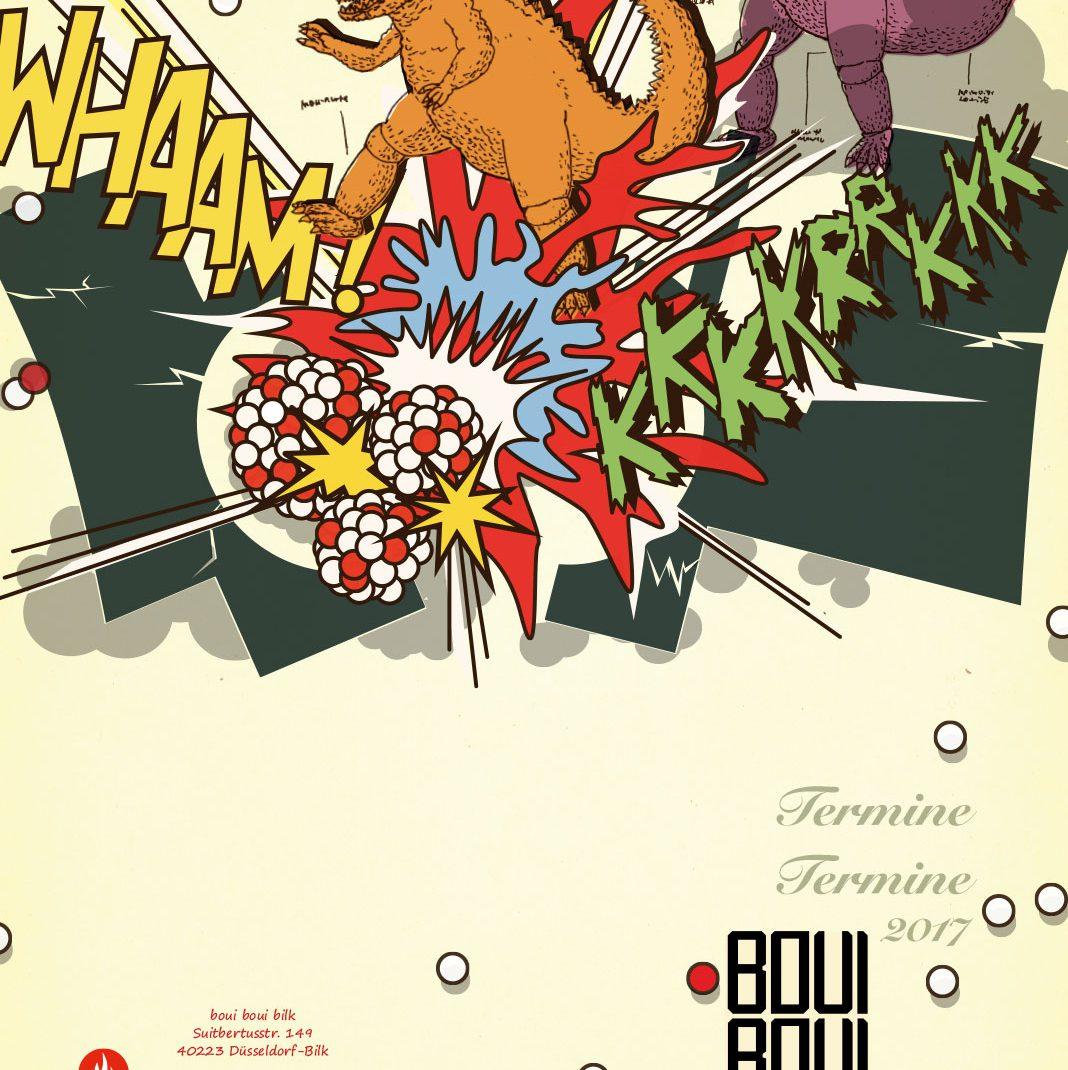 Eventfolder, Illustrated Folder, Godzilla, Cultural events,