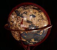 Globe de Martin Behaim (1459-1507) Nuremberg, 1492. Plâtre peint. Fac-similé de 1847 BnF, département des Cartes et Plans, CPL GE A 276 (RES) © Bibliothèque nationale de France