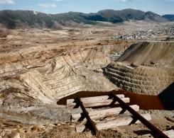 Berkeley Pit, Anaconda Copper Mine. Butte, Montana 1985