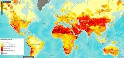 Le stress hydrique dans le monde