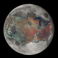 Les USA sur la lune
