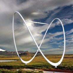 Superstring Pylon is a design by Yong-Ho Shin/ shindesignworks, South Korea.