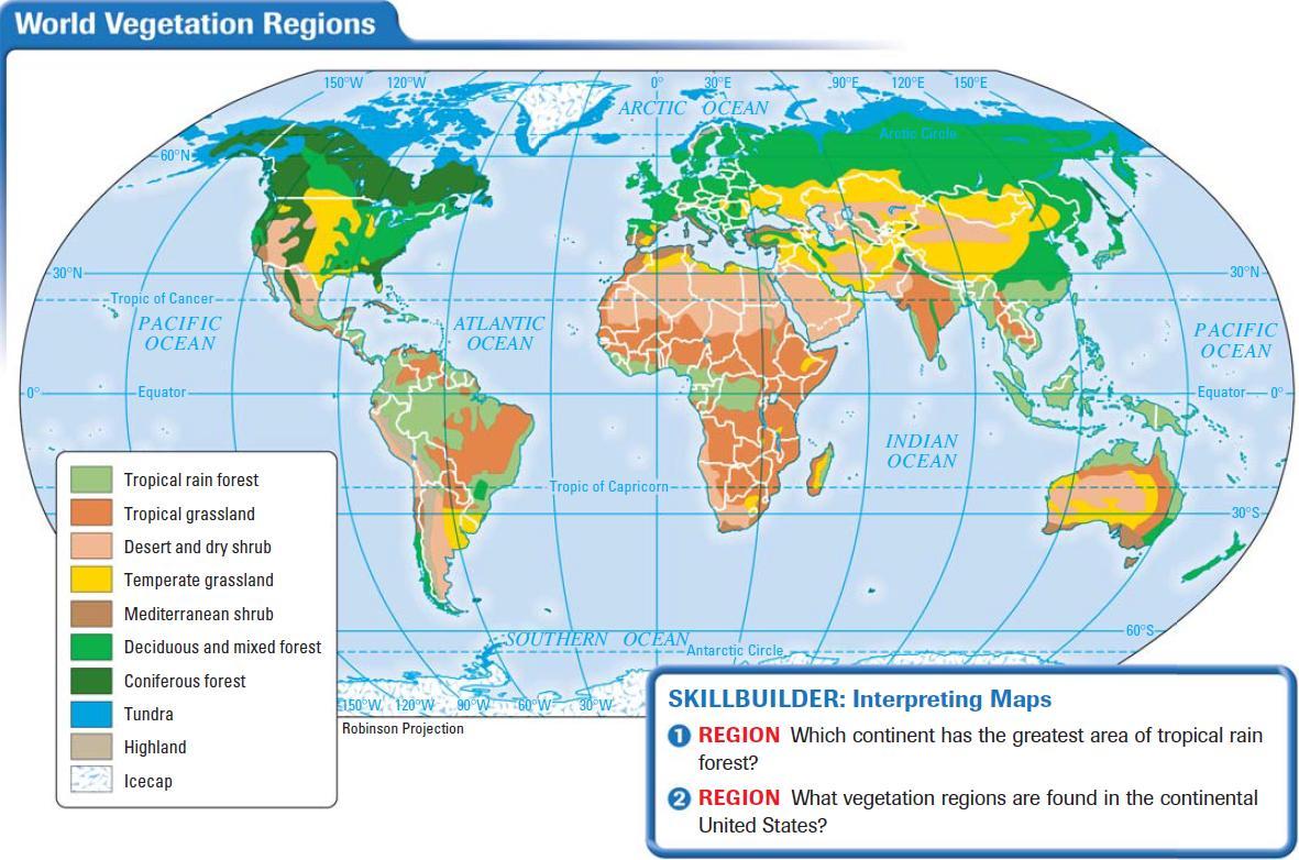 Soils And Vegetation