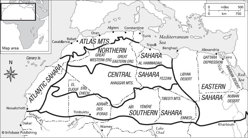 Sahara Desert: Northern Africa