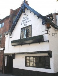Ye Olde Salutation Inn (credit: Tours of Nottingham)