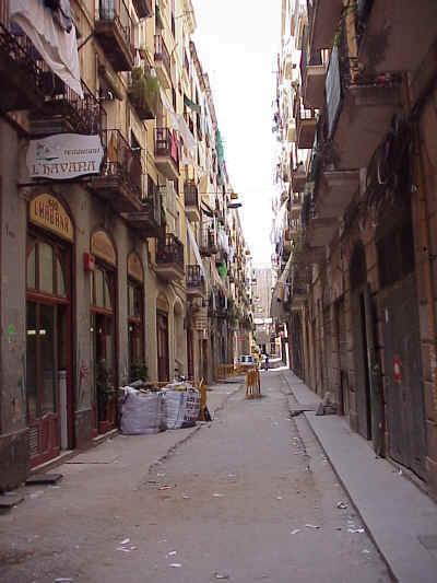 El Raval Barcelona Urban Redevelopment Images