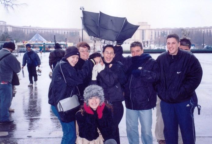 1999 Christmas in Paris