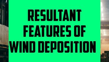Resultant Features of wind deposition