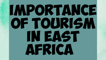 Importance of tourism in East africa