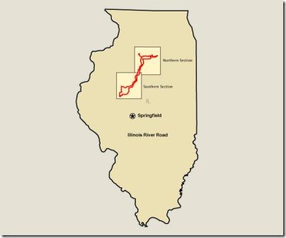 02 Illinois River Road map