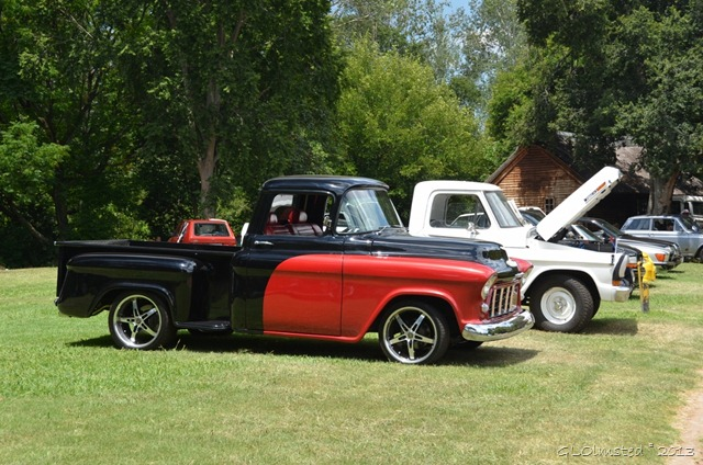Classic car show at Lover's Rock Caravan Park Magaliesburg SA