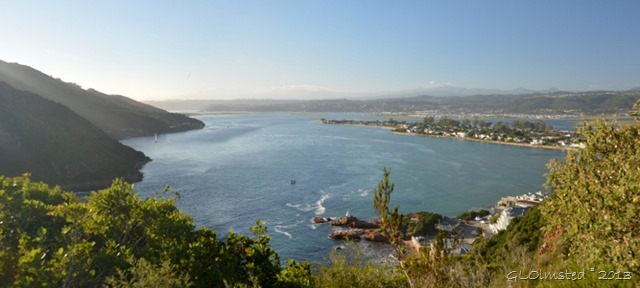 Knysna Lagoon from the Heads Knysna SA