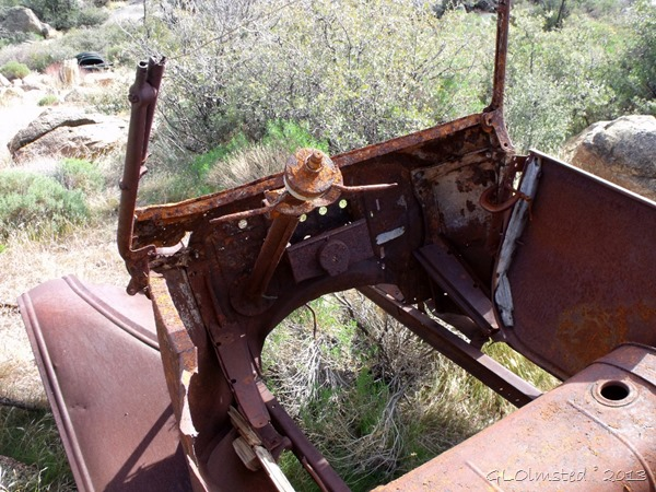 Old rusty car Weaver Mts Yarnell AZ