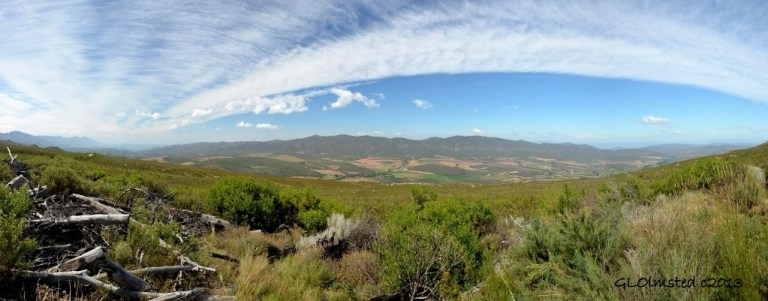 Valley view SW from Swartberg Pass SA