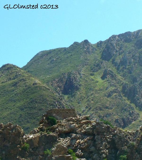 Fort on top of Cogman's tunnel SA