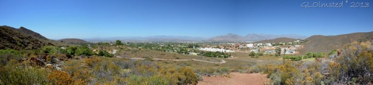 Valley view from Shale trail Karoo Botanical Garden Worcester SA