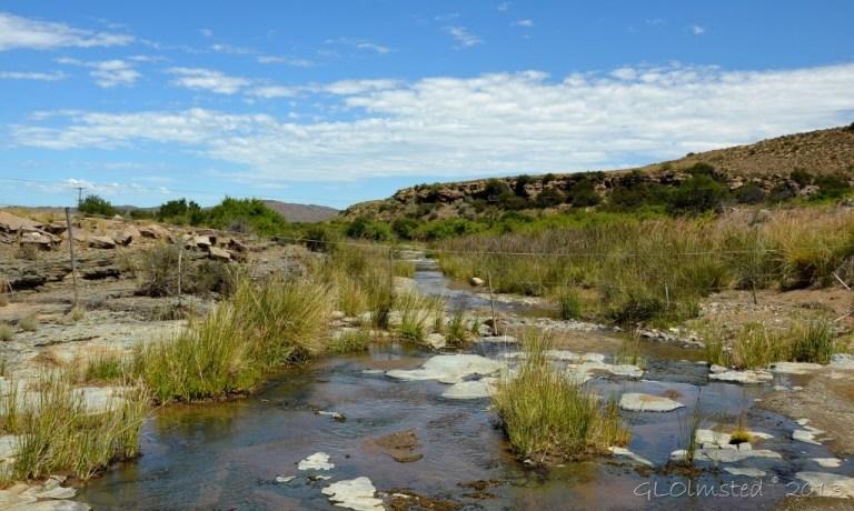 Seekoel River crossing on Nieu-Bethesda Road Great Karoo South Africa