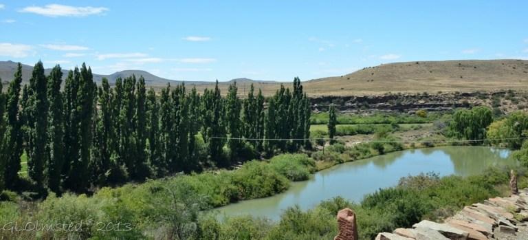 Dam at Ganora Guestfarm Nieu-Bethesda Road Great Karoo South Africa