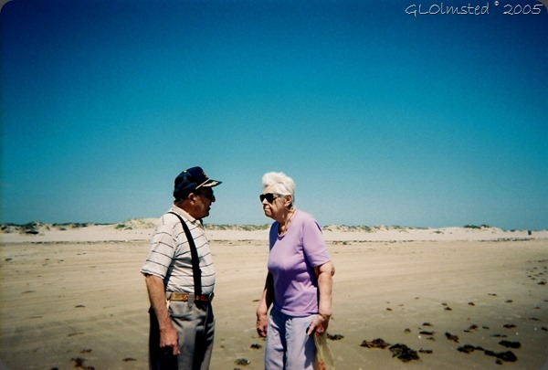 Dad & Mom San Padre Island Texas