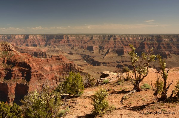 View South from Point Sublime North Rim Grand Canyon National Park Arizona