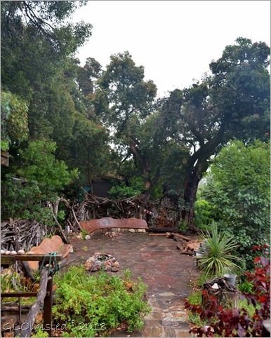 Outdoor common area Wild Spirit Backpackers Lodge Nature's Valley South Africa