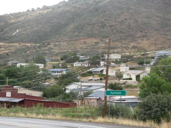 Southeast Yarnell & Y on hill