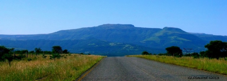 Driving to Hogsback South Africa