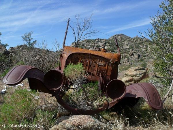 Old rusty car Weaver Mts Yarnell Arizona