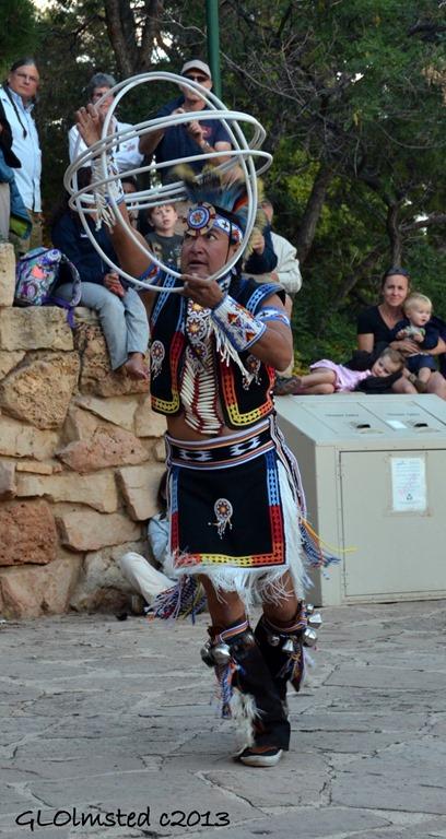 Hopi Derrick Suwaima hoop dancing Native American Heritage Days North Rim Grand Canyon National Park Arizona