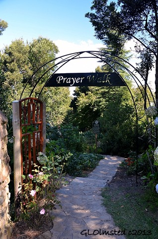Prayer Walk arch St Patricks on the Hill Hogsback South Africa