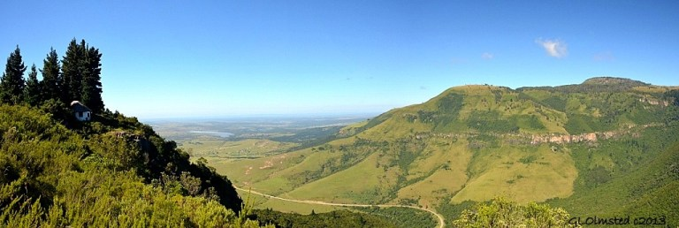 View from The Bluff Scenic Walk Hogsback South Africa